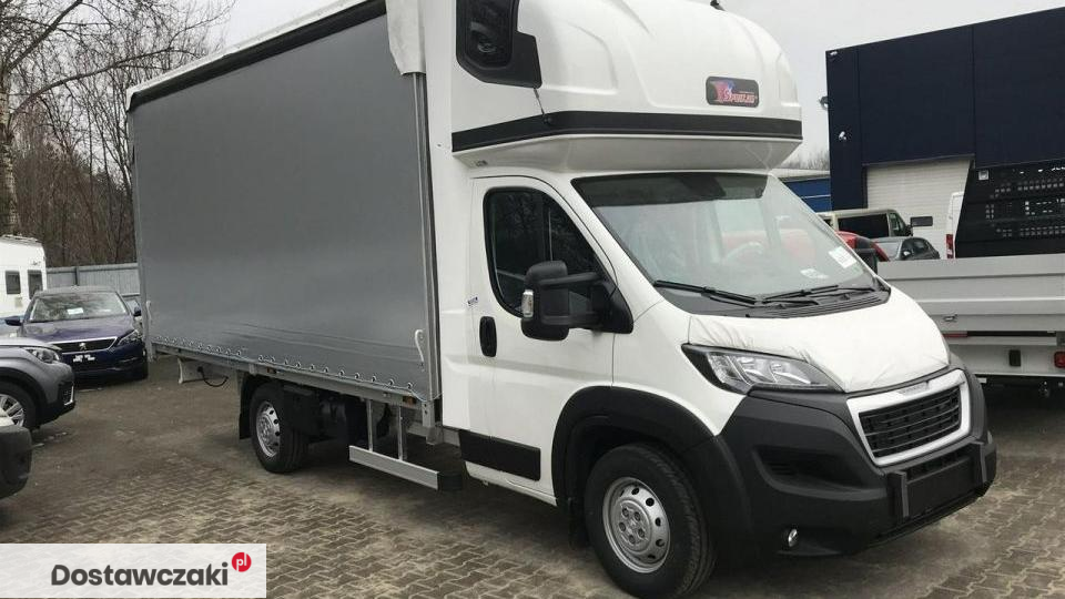 Peugeot Boxer gotowy , 10palet , firana 1