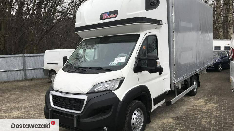 Peugeot Boxer gotowy , 10palet , firana 3