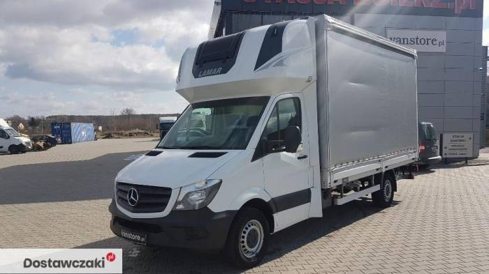 Mercedes-benz Sprinter 316 8 palet winda Mercedes Sprinter Plandeka Topsleeper Winda 1