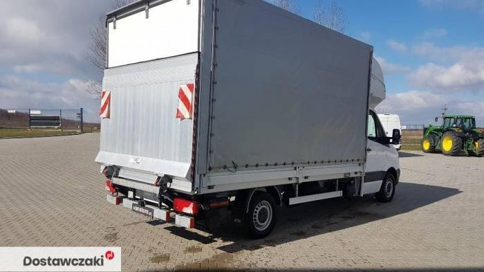Mercedes-benz Sprinter 316 8 palet winda Mercedes Sprinter Plandeka Topsleeper Winda 3