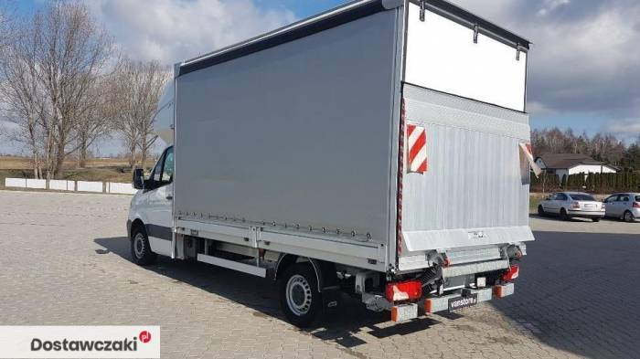 Mercedes-benz Sprinter 316 8 palet winda Mercedes Sprinter Plandeka Topsleeper Winda 4