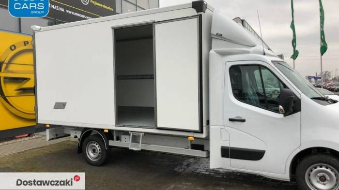 Opel Movano CHASSIS CAB 2.3D MT6 E6 S/S Podwozie Izoterma 4