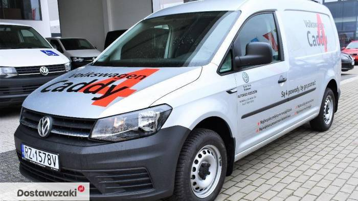 Volkswagen Caddy MAXI DEMO 2.0 TDI 102 KM DEMO Maxi/Srebrny metalik 2