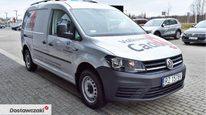 Volkswagen Caddy MAXI DEMO 2.0 TDI 102 KM DEMO Maxi/Srebrny metalik 3