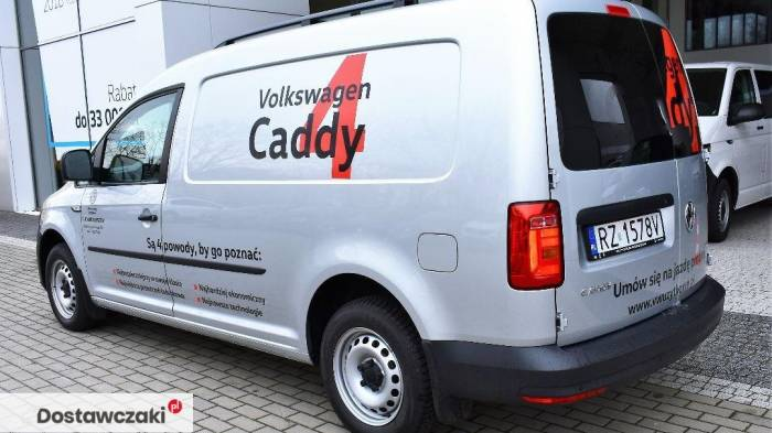 Volkswagen Caddy MAXI DEMO 2.0 TDI 102 KM DEMO Maxi/Srebrny metalik 5