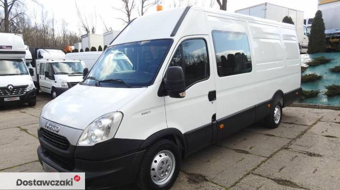 Iveco DAILY 35S17 FURGON BRYGADOWY 7 MIEJSC Tempomat 6