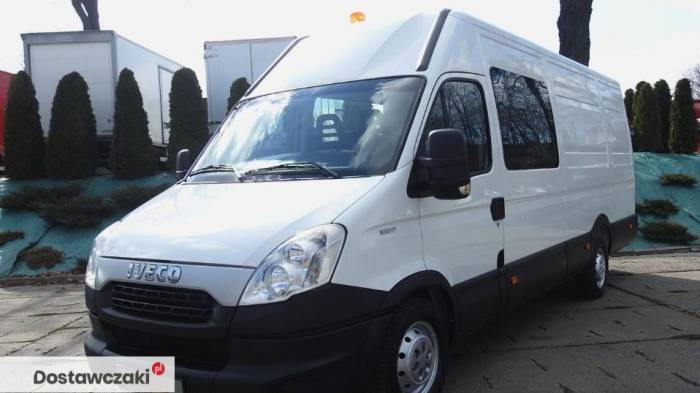 Iveco DAILY 35S17 FURGON BRYGADOWY 7 MIEJSC Tempomat 14